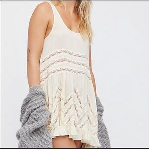 Intimately Free People Trapeze Slip Mini Dress